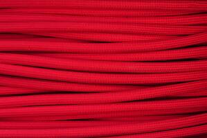 Textile cable Red CE9 braided 2x0.75 and 3x0.75mm2