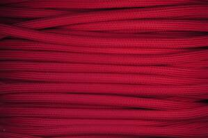 Textile cable Red Strawberry CJ45 braided 2x0.75 and 3x0.75mm2