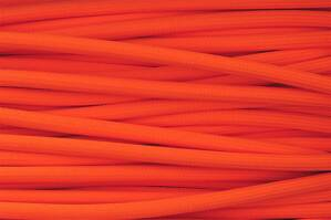 Textile cable Orange Reflective OR4 braided 2x0.75 and 3x0.75mm2