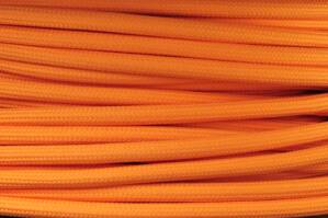 Textile cable Orange PM42 braided 2x0.75 and 3x0.75mm2