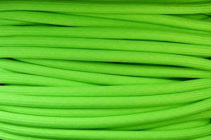 Textile cable Green Reflective ZE8 braided 2x0.75 and 3x0.75mm2